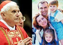 El Papa afirma que quien obstaculiza la familia amenaza la paz
