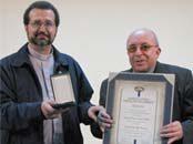 Obispos Tomás González y Manuel Camilo Vial recibieron distinción Cardenal Raúl Silva Henríquez