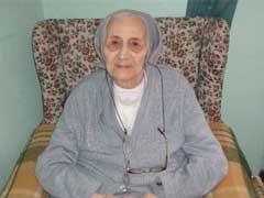 Sor Margarita Favaro fma , del Instituto Sagrada Familia de Punta Arenas, vuelve a la casa del Padre