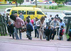 Inicio de clases en el Instituto Salesiano de Valdivia