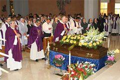 Rector Mayor junto al Consejo General y Salesianos Capitulares despidieron al P. Helvecio Baruffi