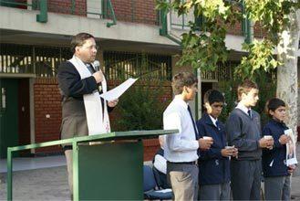 Alumnos del Oratorio Don Bosco inician año escolar