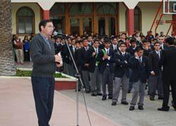 Inicio del Año Escolar en comunidad educativo pastoral de La Serena