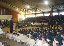 Inauguración oficial del Año Escolar 2008 en el Instituto Salesiano de Valdivia