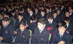 Inicio del Año Escolar en Concepción: acto de bienvenida congregó a unas 2 mil personas