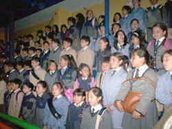 Inicio del Año Escolar en el Liceo Monseñor Fagnano de Puerto Natales