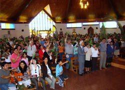 Inicio de la Semana Santa en la presencia de Talca