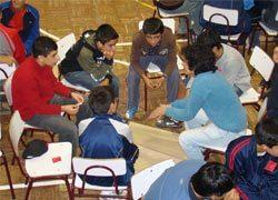 Alumnos del CEST participaron en el Campamento Don Bosco 2008 en dependencias de la presencia de Linares