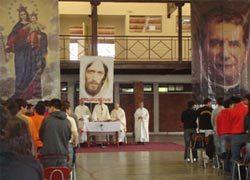Obispo Diocesano presidió Eucaristía de Pascua de Resurrección en la presencia de Linares