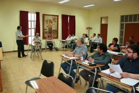 Connotado especialista encabeza capacitación insieme para profesores de Escuelas TP