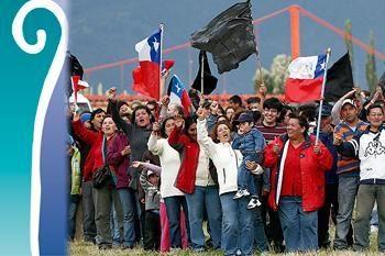 Junto a la comunidad de Aysén