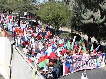 "Obispo Calama: ""Estamos apoyando las demandas"""