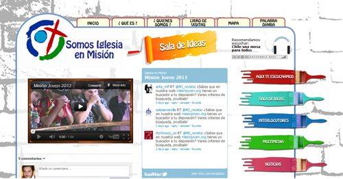 Misión Joven inspira el nuevo portal de Misión Continental