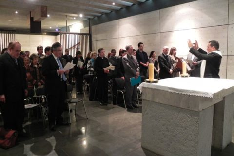 Conmemoración del fallecimiento del Cardenal Silva