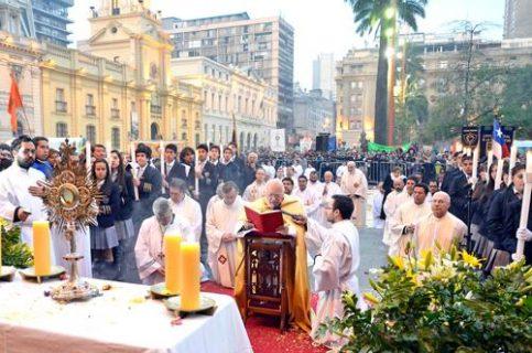 """""""La Eucaristía es lo más grande que tiene la Iglesia"""""""