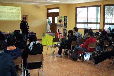 Jóvenes de cuatro ciudades en la Jornada Zonal Sur Misionera