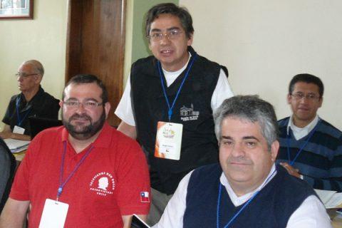 Tres participantes de Chile en el Congreso Continental de las Memorias del Oratorio