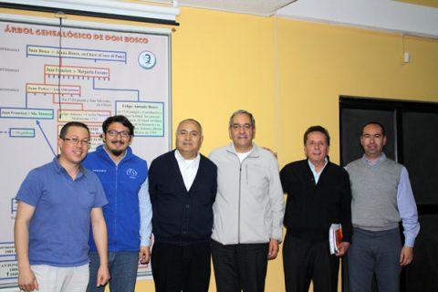 Cuatro Laicos Chilenos en el Tercer Nivel del Curso de Salesianidad de Quito
