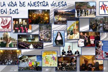 La vida de la Iglesia en 2012