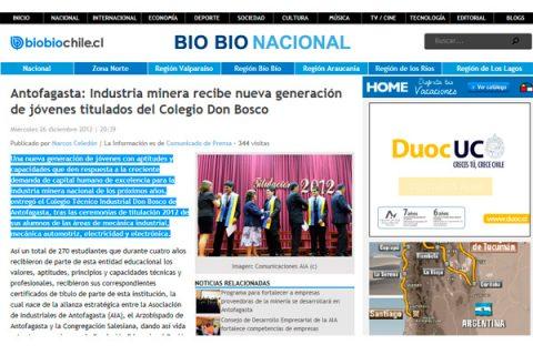 Antofagasta – Colegio modelo de gestión y excelencia en sus prácticas educativas
