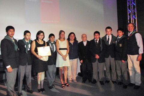 Escuela de Catemu: Primera a Nivel Regional y Segunda en el país por su aporte a través de los Forjadores Ambientales