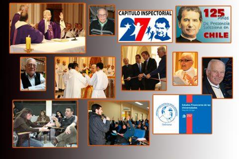 Congregación Salesiana en Chile durante 2012