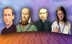 Los santos salesianos del mes de enero