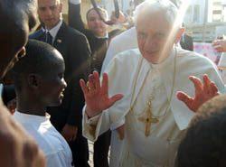 Cuando Benedicto XVI estuvo en la casa de Don Bosco