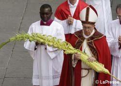 Alegría, Cruz, Jóvenes: tres palabras del Papa en Domingo de Ramos