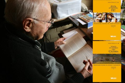 Incansable labor del P. Mario Borello: Jueves 21 lanzará dos nuevos libros