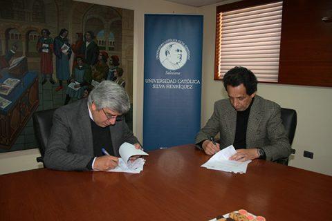 Firmado convenio de colaboración entre Edebé Chile y la UCSH