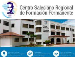 Sitio web de Centro Regional de Formación