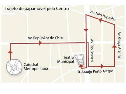 Chilenos se juntarán en calle República de Chile a recibir al Papa