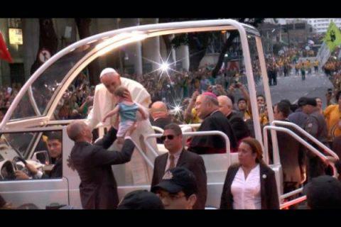 Dos millones de corazones recibieron al Papa Francisco