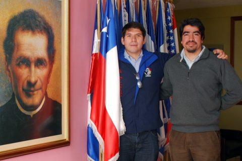 Dos chilenos en el curso de Salesianidad