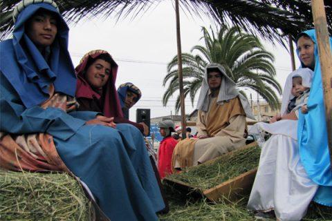 Por quinto año consecutivo Pesebre Itinerante Salesiano recorre calles de La Serena