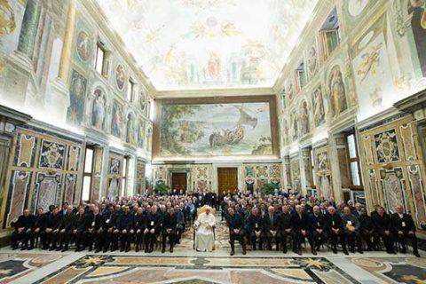 CG27: Audiencia con el Papa Francisco