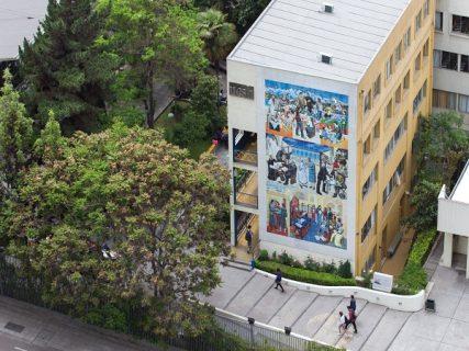 Tercer simulacro de terremoto para la educación en Santiago