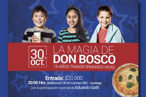 Colabora con la 2° Cena Solidaria de la Fundación Don Bosco