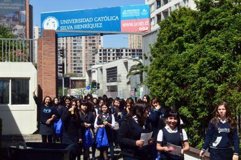 Alumnas del Politécnico de San Miguel visitan la UCSH