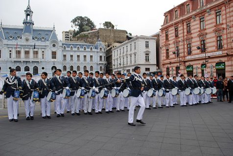 En Valparaíso se realizó el Encuentro Nacional de Bandas Salesianas.
