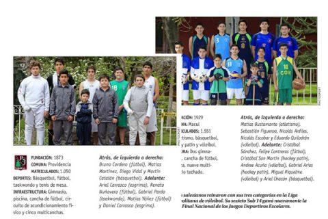 Dos colegios salesianos entre los mejores del Deporte Escolar