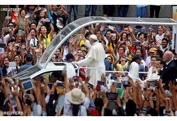 Papa en Filipinas, mensaje cristiano: paz, justicia, escuchar a los pobres, familia, diálogo