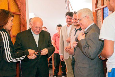 Fundación Don Bosco bendice e inaugura oficialmente nueva Casa Central