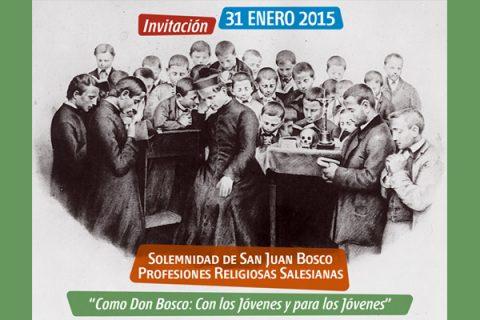 Sábado 31 de enero: Preparados para celebrar la Fiesta de San Juan Bosco