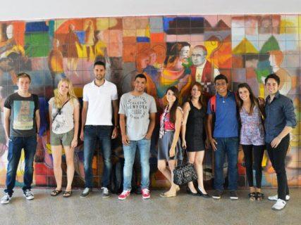 Recibidos nueve jóvenes de intercambio