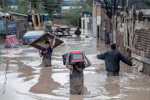 Aumenta número de damnificados comunidad salesiana de Copiapó