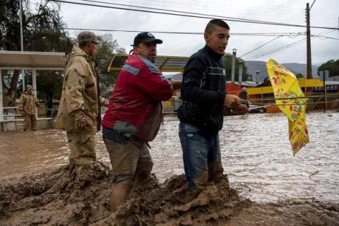 Afectados integrantes de comunidades educativas salesianas por la catástrofe en el Norte