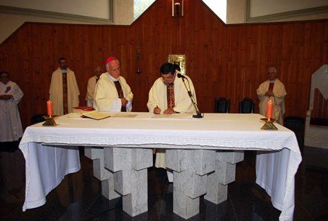 Asume nuevo párroco de San Juan Bosco de Valparaíso