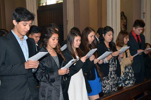 Sesenta jóvenes promesan en las CAS